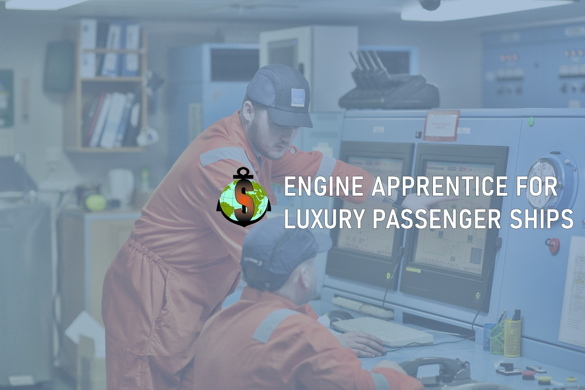 Engine Apprentice for work on passenger ship Majesty of the Seas