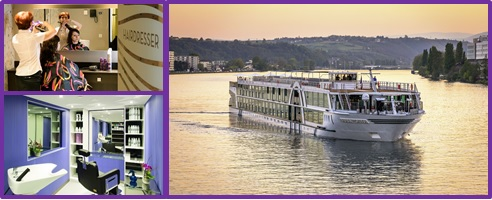 Hairdresser/ Massage Therapist for luxury river ships