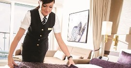 Cabin Steward/ Cabin Stewardess for work on board Luxury ocean going passenger ships