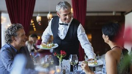 Senior Waiter for Luxury passenger ship