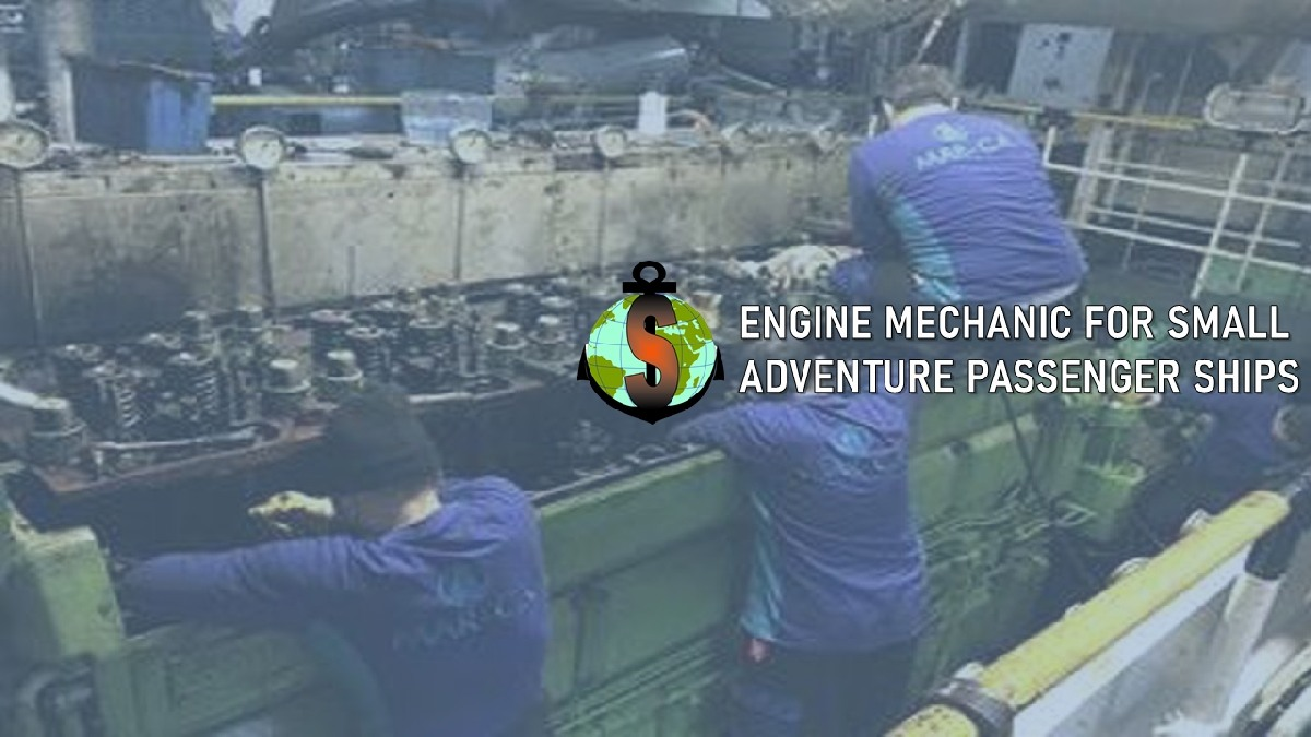 Engine Mechanic for Luxury small adventure passenger ships