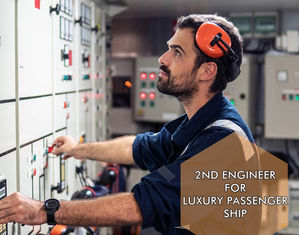 2nd Engineer for passenger ship