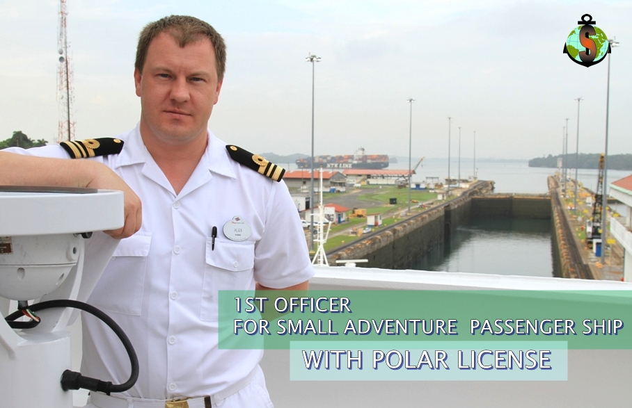 1st Officer  (POLAR license) for Small Adventure Passenger Ship
