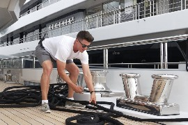 Deckhand for Luxury Private Charter Yacht