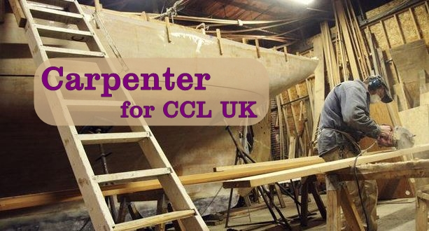 Carpenter for work on Luxury Passenger Ships for CCL UK