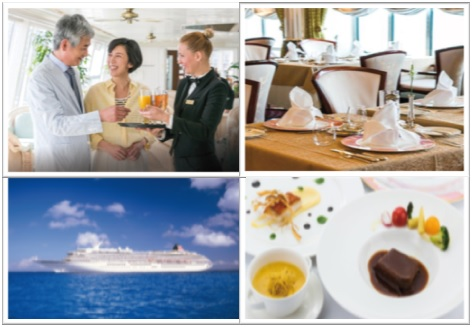 F&B WAITER/ESS WITH JAPANESE LANGUAGE FOR M/S ASUKA II