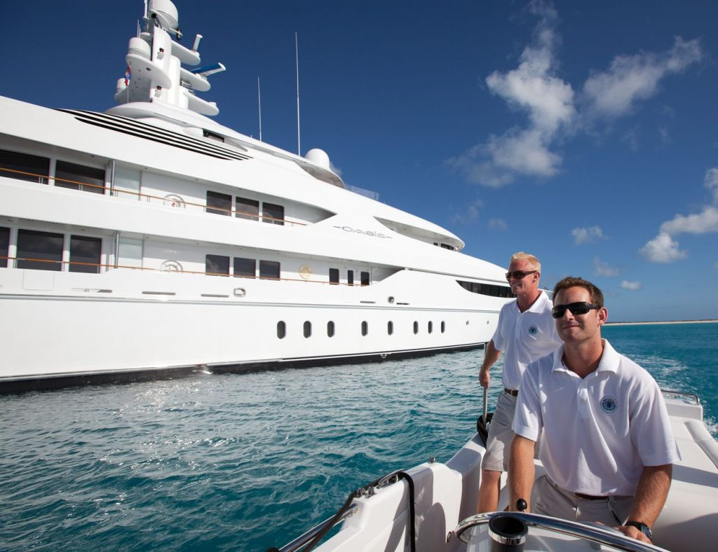 DECKHAND SAILOR FOR WORK ON BOARDF LUXURY 64 M. CHARTER YACHT