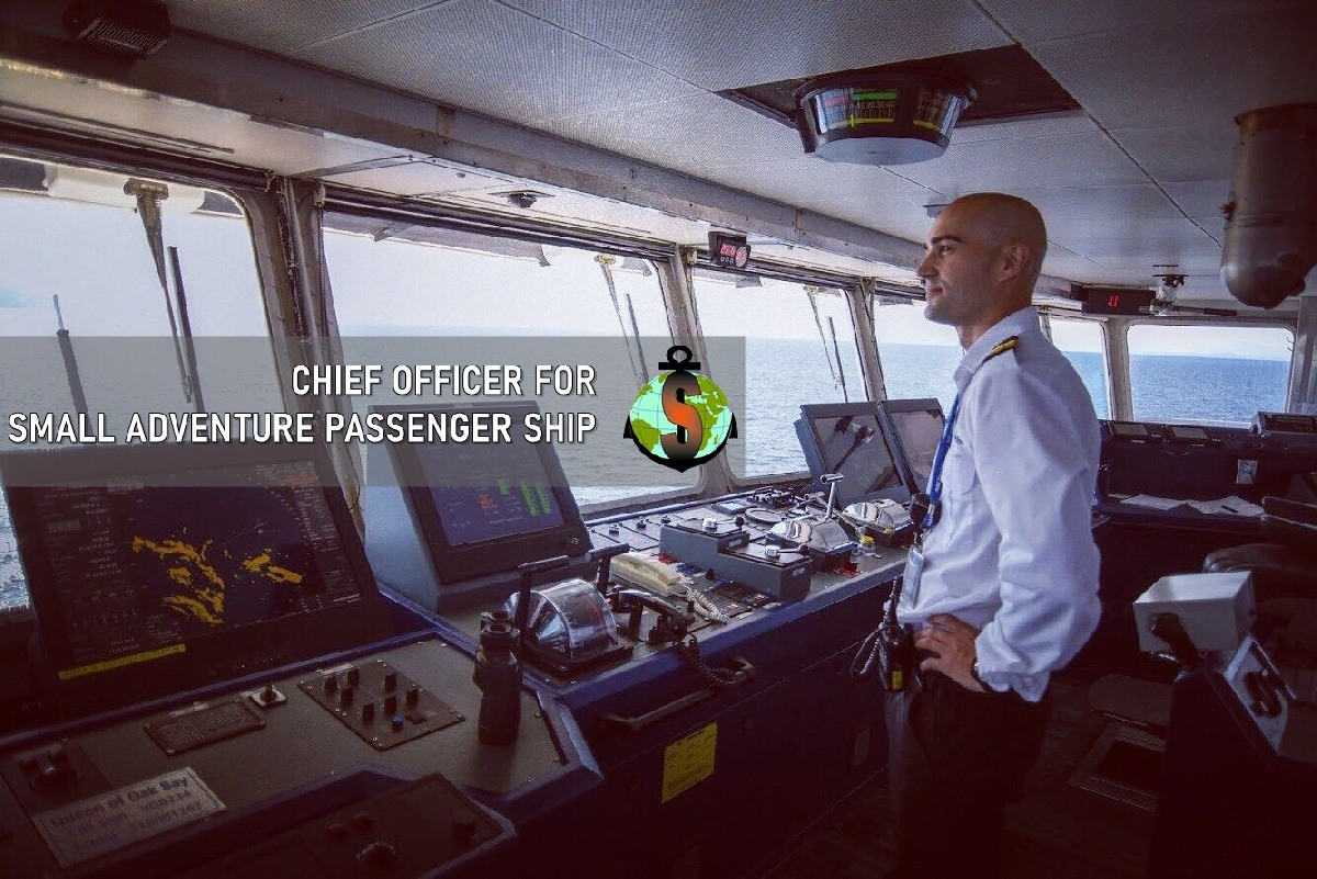 Chief Officer for small adventure passenger ships